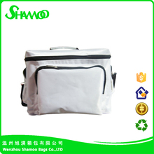 promotional portable insulated polyester freezer bag