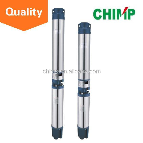 6 inch big flow 6SR 5.5kW oil filled motor deep well submersible pump for sell