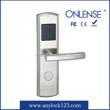 Automated hotel door lock with easy operation