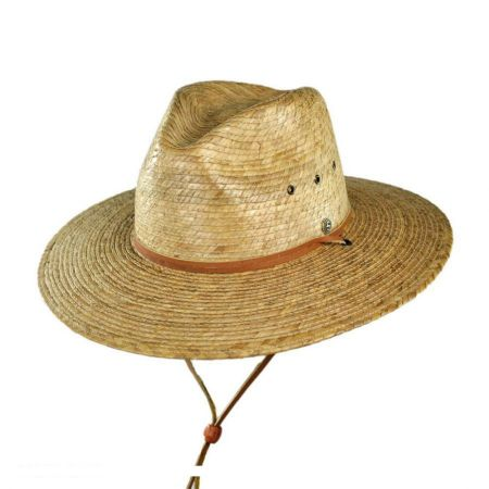 Logo Brand Cheap Cool and comfortable Pebble Beach Gambler Summer Straw Hats for Promotion