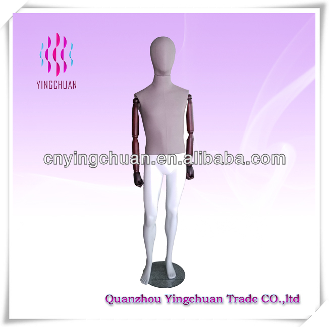 Adjustable male mannequin doll