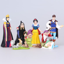 DIHAO audited Personalized Snow White Princess Anime Action Figure custom plastic snow white figure