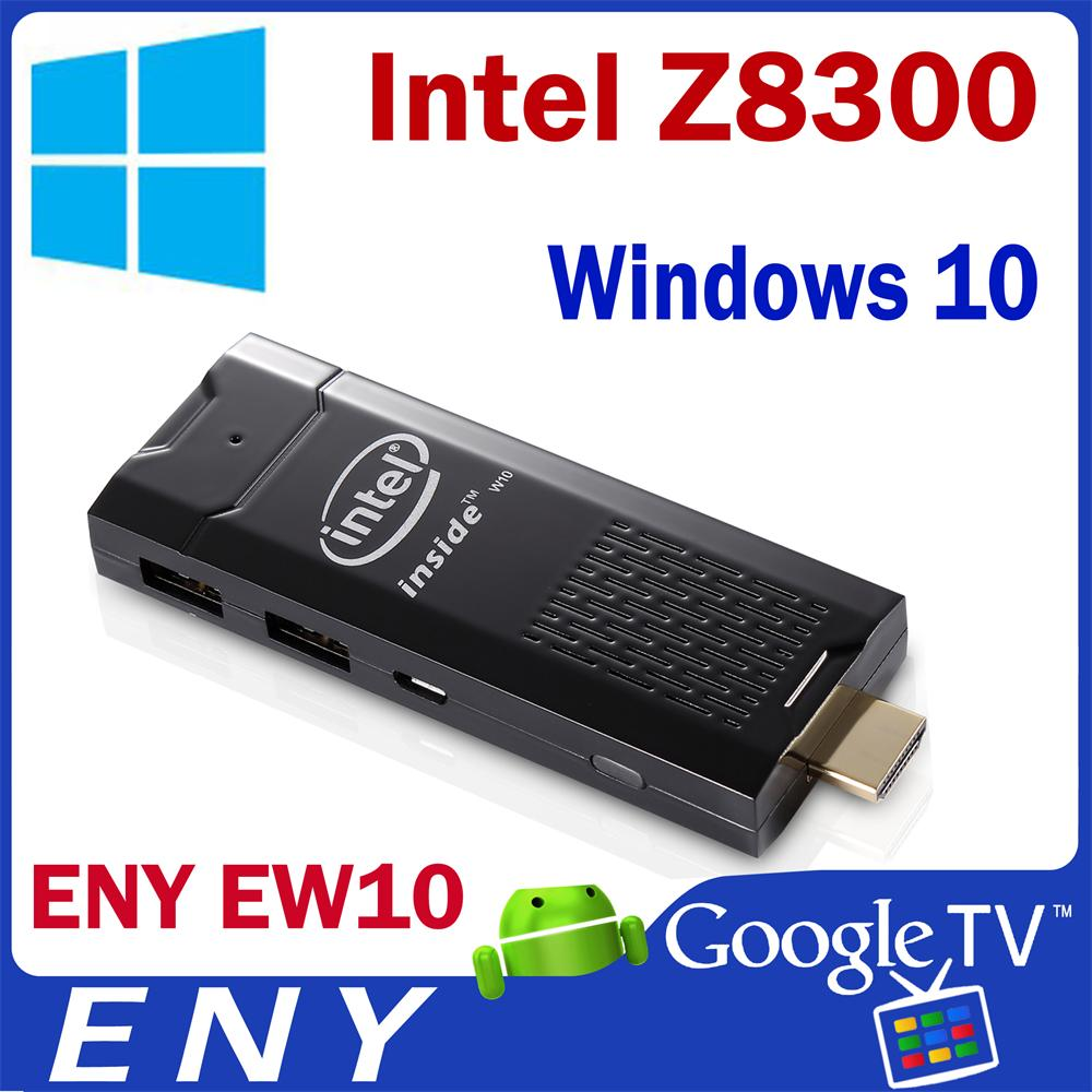 Wintel Windows 10 Mini PC Quad Core WIFI Bluetooth 4.0 1080P HD Intel Atom Z8300 Mini PC Media Streaming Player 2GB 32G