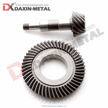 Forged Manufacturing Hardened Steel Driving spiral bevel gear
