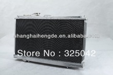 Special price radiator For TOYOTA landcruiser 75 SERIES HZJ75 MT 90-01 MOTOR: DIESEL 1HZ auto radiator electric fan 24v