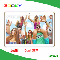 2016 cheap tablets 9.6 Inch android 3G quad core 16GB hdd IPS screen tablet pc