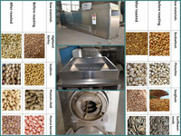 Factory price electric industrial cocoa bean roasting machine, bean roasting machine