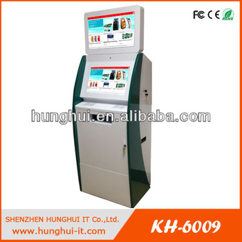 automated teller machine with cash acceptor/ cash dispenser