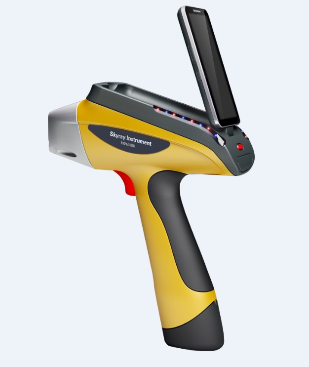 Niton XL5 handheld XRF analyzer identifies alloys, detects tramp elements, analyzes precious metals