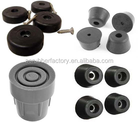 no mark non slip protective rubber feet threaded electrinic rubber feet screw furniture rubber feet
