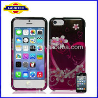 Beautiful Design TPU Gel Case for iPhone 5C , TPU Case for iPhone 5C, Case for iphone 5 C--Laudtec
