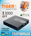 Tiger I3000 OTT Android TV Box Android 4.4KitKat