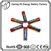Alibaba Supplier Aluminum Foil Jacket Alkaline AA LR6 Dry Cell Battery