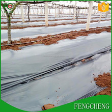 100% biodegradable mulch film black silver uv polyethylene mulch film for agriculture