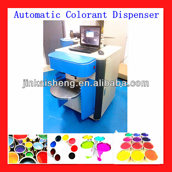 automatic color tinter machine