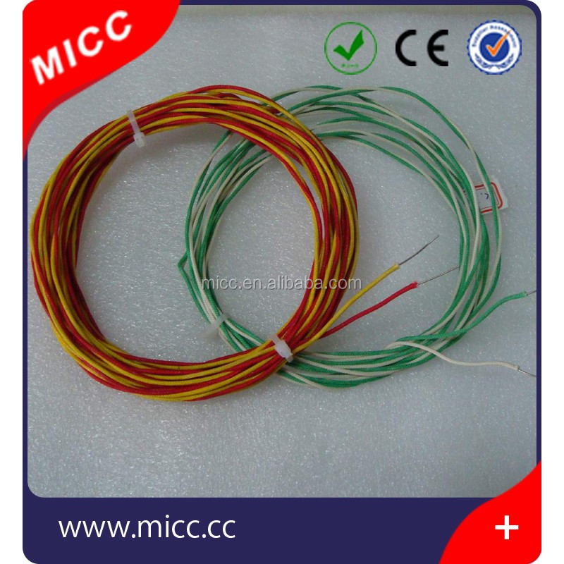 High Temp 400c 0.711mm Thermocouple Wire Type K With Fiberglass ...