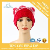 2016 custom crocheted design new style knit animal hat beanie winter hat