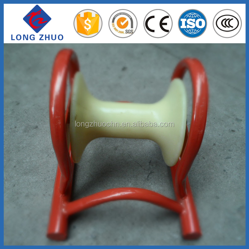 Stainless steel frame cable roller with aluminum wheel & Nylon cable pulley