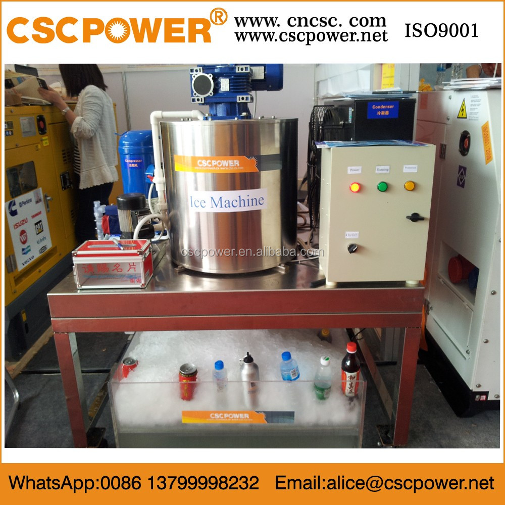 durable 16 blocks round snow flake ice making machine