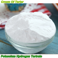 High quality cream of tartar / Potassium hydrogen tartrate for baking food