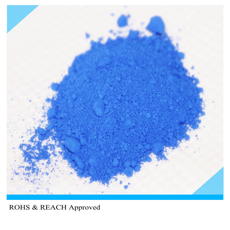 Blue Silicone Rubber Fluorescent soap pigment