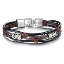 Cool hadmade leather bracelet designs for men