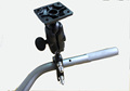 Motorcycle Handlebar Bike Mount Holder for Gps Navigator Cradle