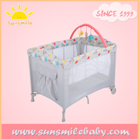 with bassinet baby crib bed china oem factory supplier