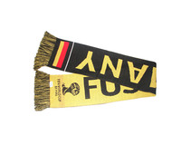 long knitted pattern football team scarf