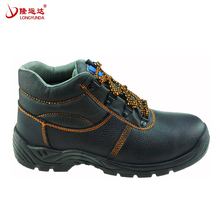 Men's construction steel toe work boots / safety working shoes