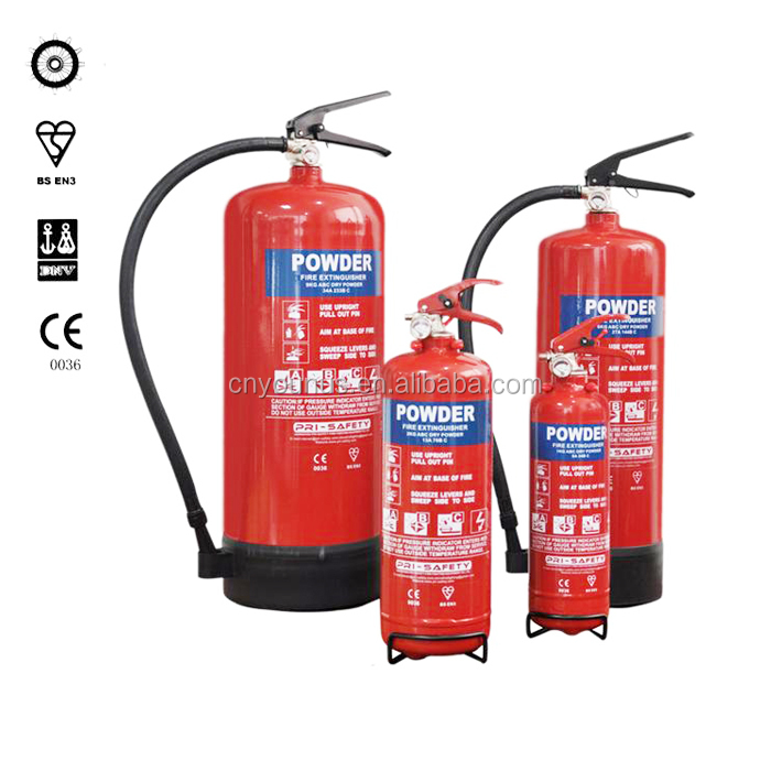 EN3 Approved ABC 1kg Dry Powder Fire Extinguisher