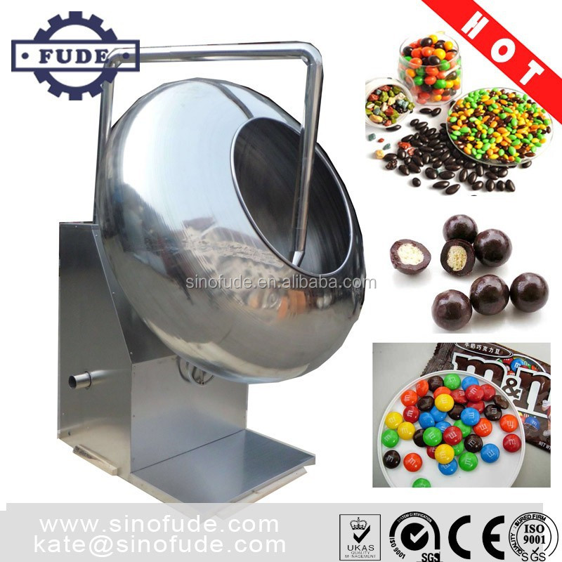 CBY series chocolate glaze machine/ chocolate coating pan machine / chocolate spin machine