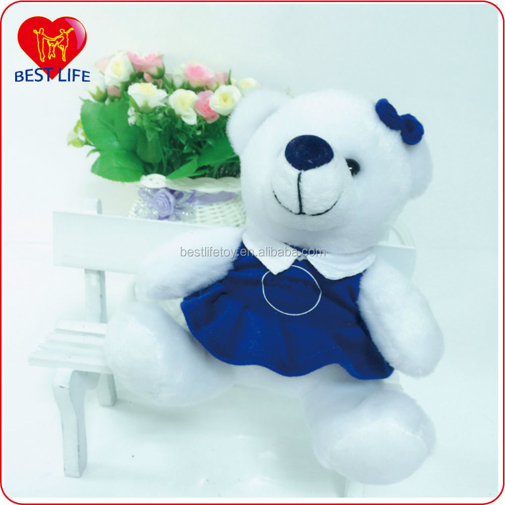 Lovely soft Wild Plush Animal small bear toys for kids (PTAL1608041)