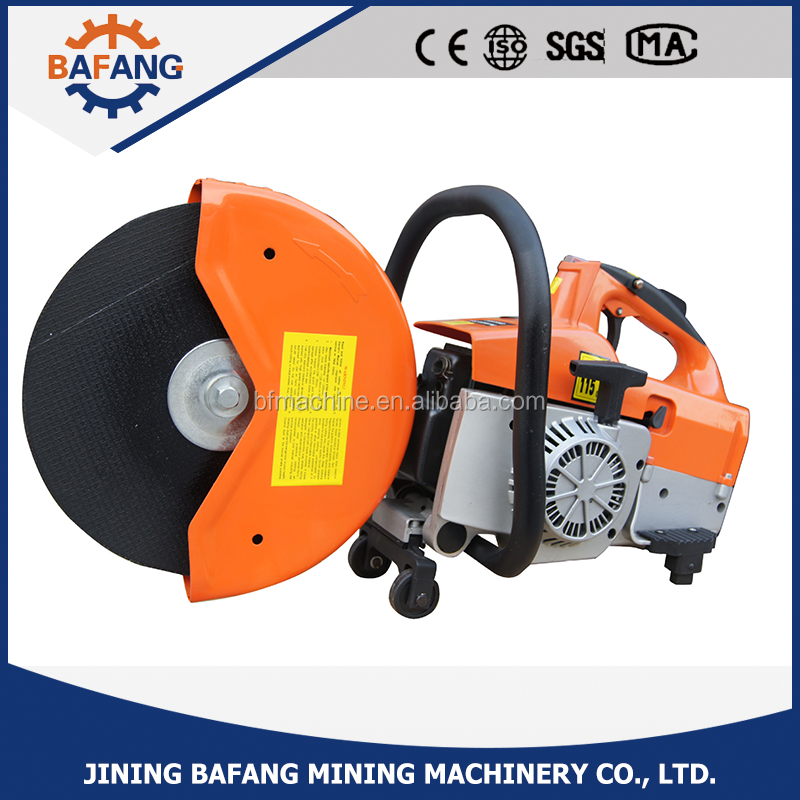 Multifunctional mini portable petrol engine concrete/steel cutting saw machine with good price