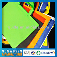 Wholesale China Non Woven Green Spun Shopping Bag