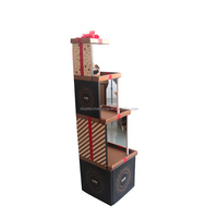 Four Tiers Cake Shape Display Stand