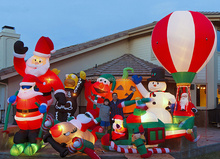Inflatable closeup christmas inflatables for Christmas Decoration