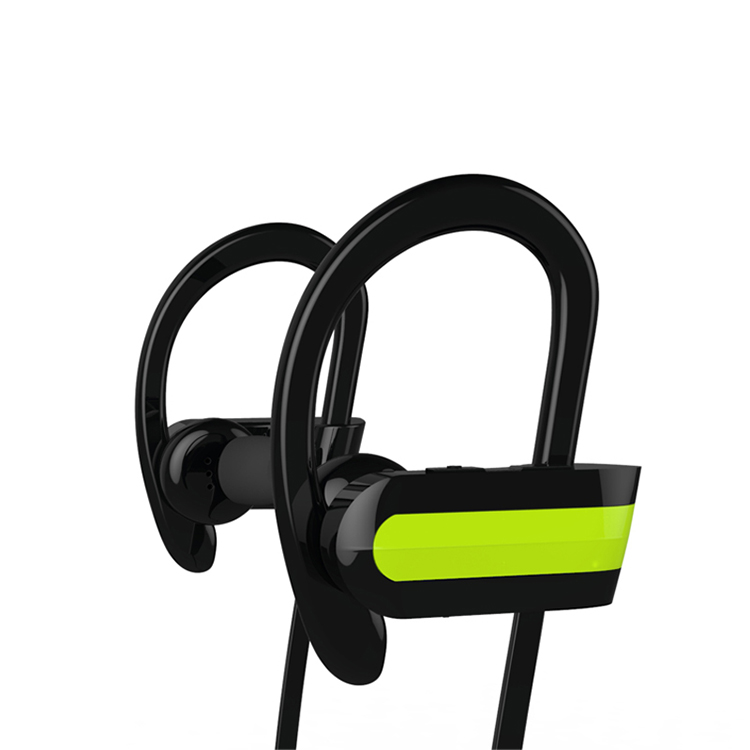 Sports Running Gym Earphone Headphone Ear Hook With Mic for Various <strong>Mobile</strong> Phone