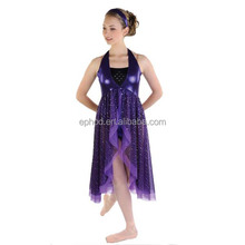 High quality dance wear dance leotard/salsa performance dresses EPA-013