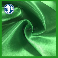wholesale satin fabric plain dyed satin fabric on stock for decoration