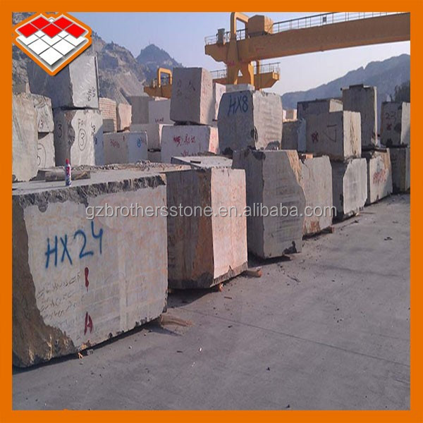 Afghan hot selling marble stone black and gold marble block