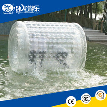 transparent inflatable water roller, inflatable water rolling ball