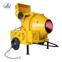 Portable Self-Loading Hydraul Concrete Mixer with Diesel Engine