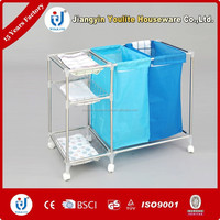 stainless steel laundry basket for laundry