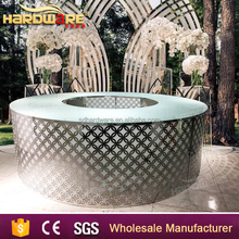 stainless steel restaurant commercial modern design night club bar counter for sale