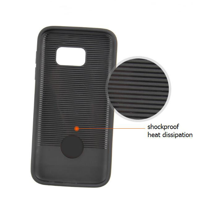 Anti Gravity Carbon Fiber Mobile 7 Phone Case Cover For Phones