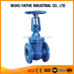 ISO CE WRAS Approved DIN 3352 F4 Ductile Iron Rising Stem Gate Valve
