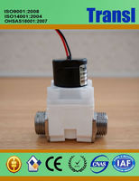 Water Solenoid Valve High Efficiency Electronic Water Magnetic Control Valve 110V Sensor