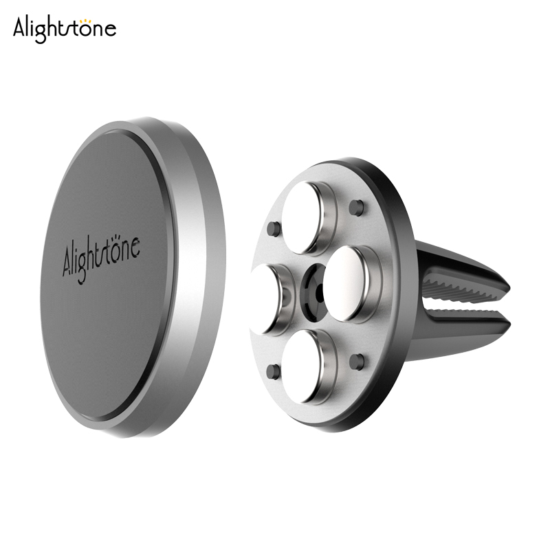 Air Vent Magnetic Car Mount Holder for Large Phones Car Mount Phone Magnetic Holder for iPhone 6s 6 SE Plus Galaxy S6 S7 Note 4