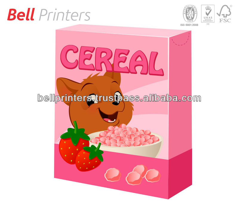Cereal and grains outer box printing from India